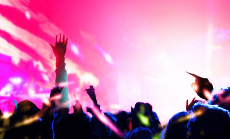 舞台照明・BGMイメージ